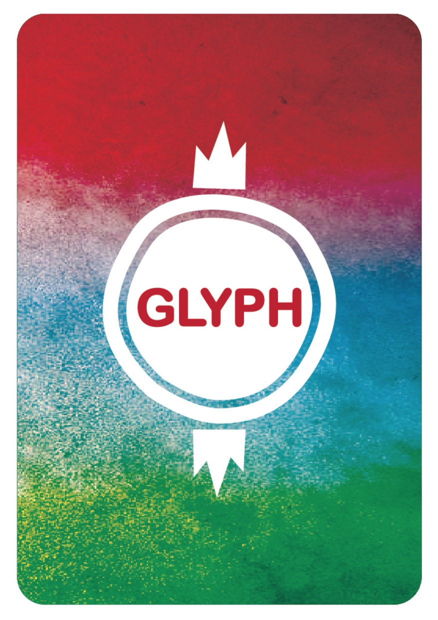 Glyph Playing Card Back- Jacqueline Boss